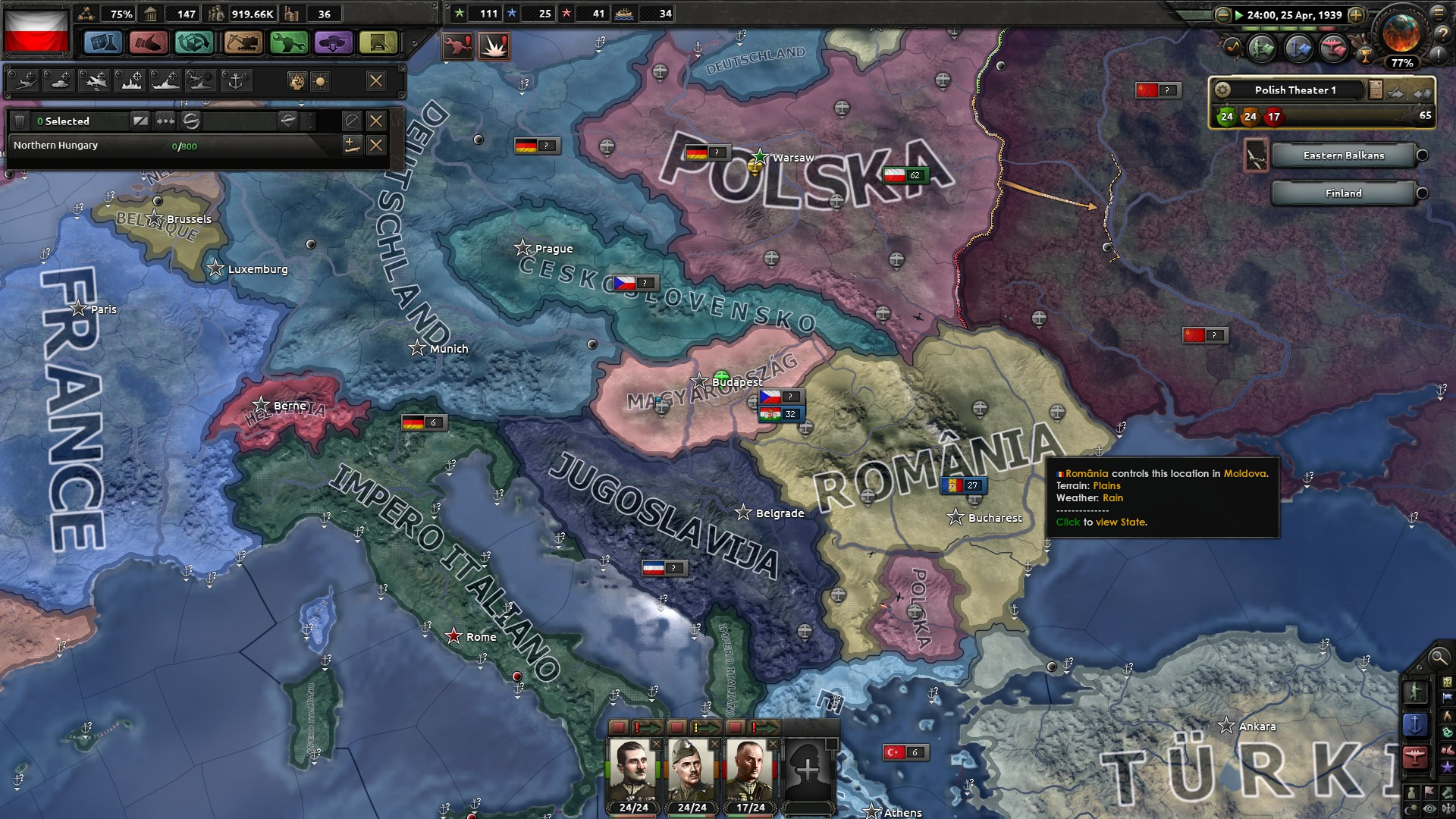 Polska run: Poland can into space, survive as Międzymorze and Hoi4