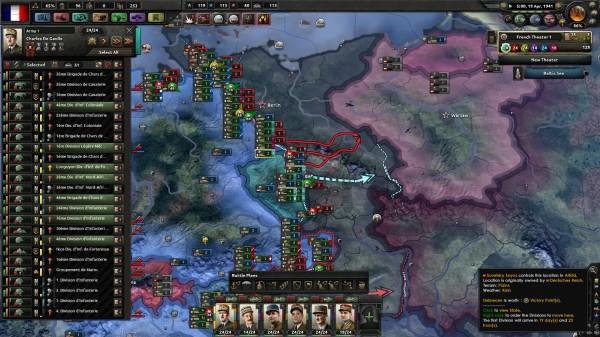 France run: vive la France under Big Entente (Hearts of Iron